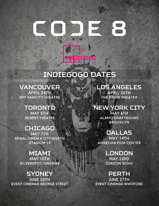 Code 8 - a film from Robbie & Stephen Amell | Indiegogo