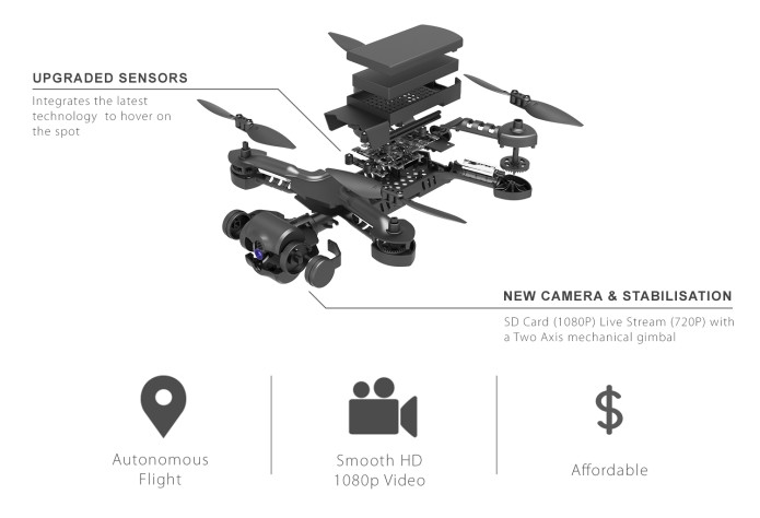 Micro Drone 4 0 - Affordably Priced Under $200 | Indiegogo