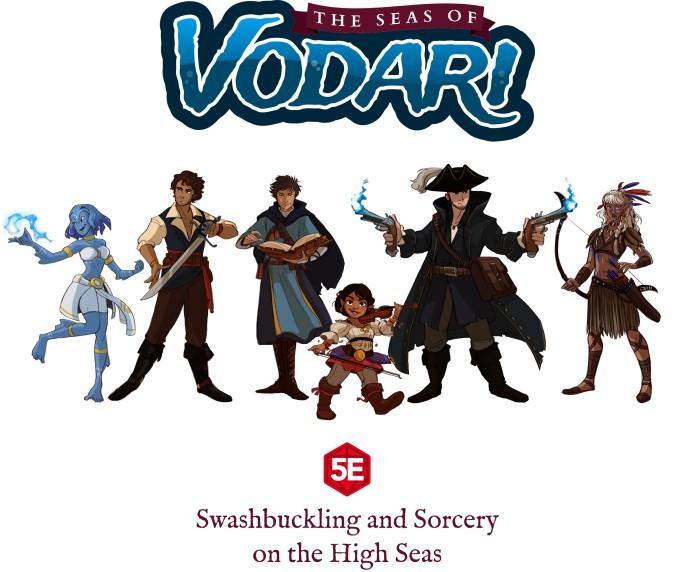 The Seas of Vodari Campaign Guide 5E | Indiegogo