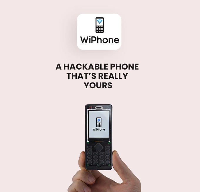 WiPhone, A Phone for Hackers and Makers | Indiegogo