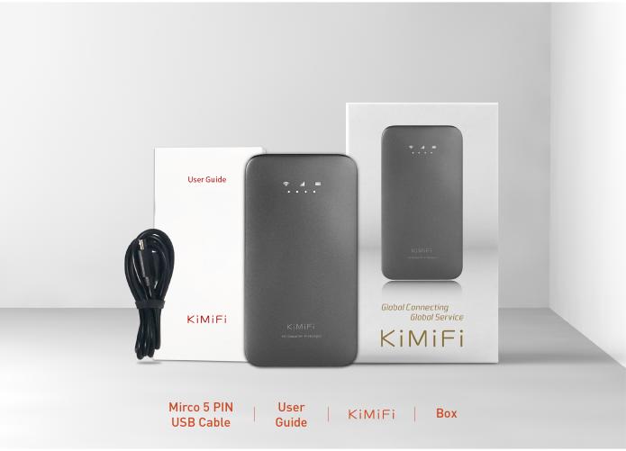 KiMiFi: Real Worldwide Unlimited 4G Mobile Hotspot | Indiegogo