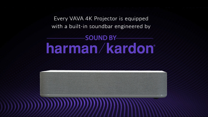 Harman Kardon speakers create a clear, rich, dynamic sound
