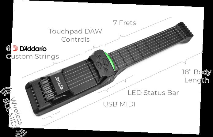 Jamstik Smart Guitars - For Learning & Creating   Indiegogo
