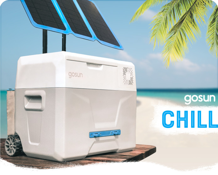 Gosun Chill A Solar Cooler That Doesn T Need Ice Indiegogo