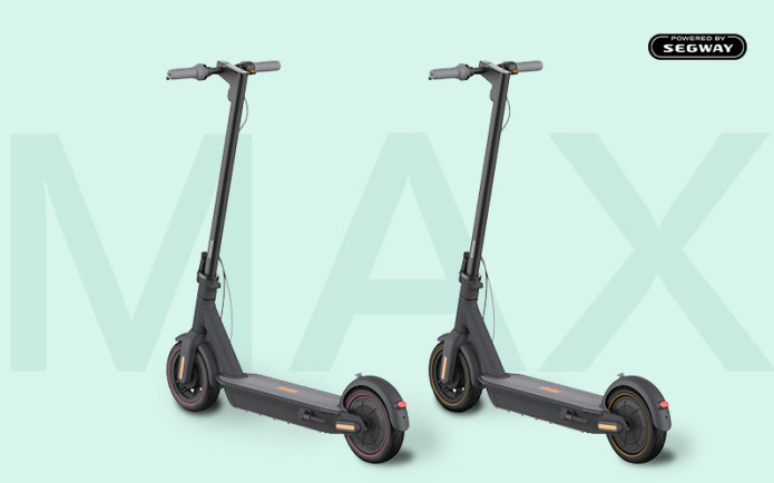 Ninebot MAX: Ultimate Electric Scooter by Segway - Overview