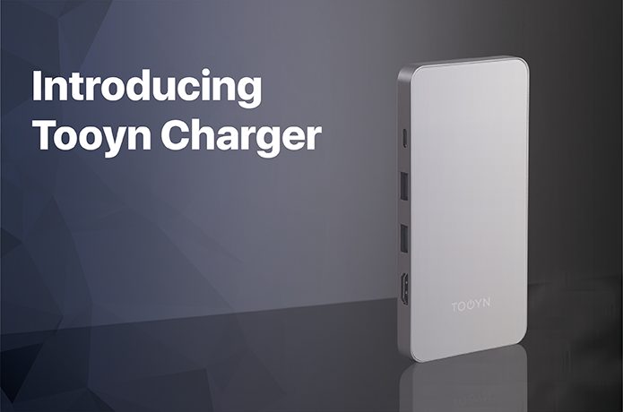 Tooyn Charger Is More Than Just A Type C Charger Incorporated Inside Are 2 Fast Charging Usb 3 0 Qc Ports That Will Charge Any Device At Lightning Speeds