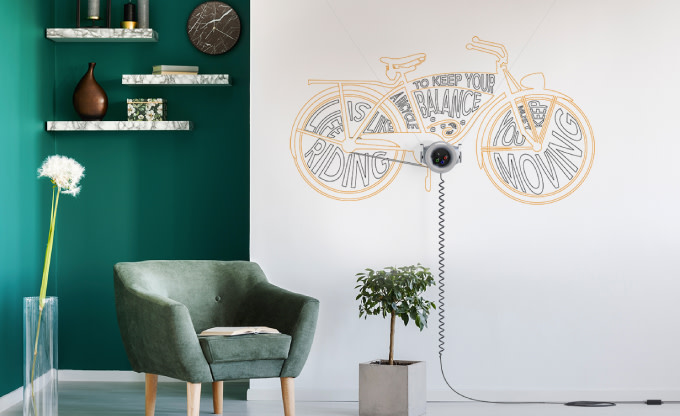 Astounding Scribit Turn Your Wall Into A Wonderwall Indiegogo Andrewgaddart Wooden Chair Designs For Living Room Andrewgaddartcom