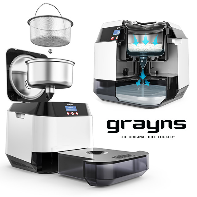 Grayns: Healthy, Sugar-Free Home Rice Cooker | Indiegogo