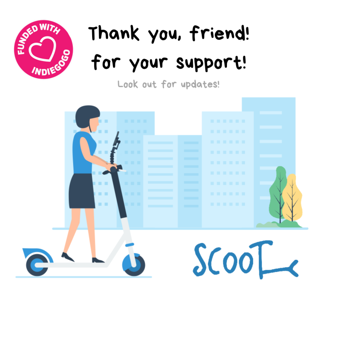 Scooty: First & Ultimate Phone Holder for Scooters | Indiegogo