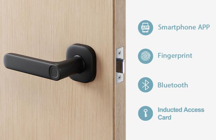 部屋の扉に鍵をつけて!!そんな要望にDIYでハンドルを交換するだけ最新のデジタルドアロックに変身させる事ができる「FIDO」