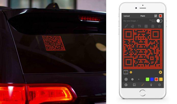Taxishoptv Controlled Emoji Car Display Ebay