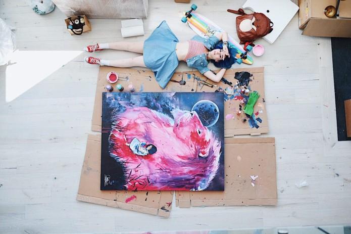 Sketchbook Challenge by Lora Zombie | Indiegogo