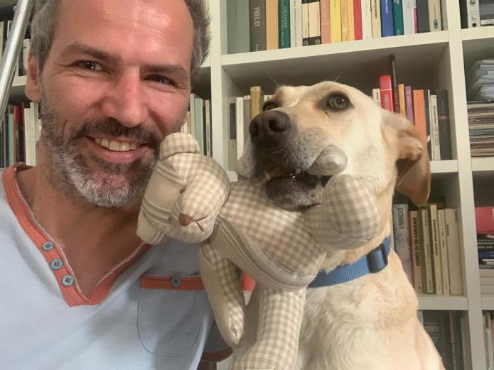 Me and Nina, came to my life from a Sicilian Shelter