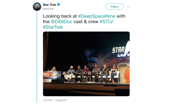 StarTrek DS9Doc Panel Recap