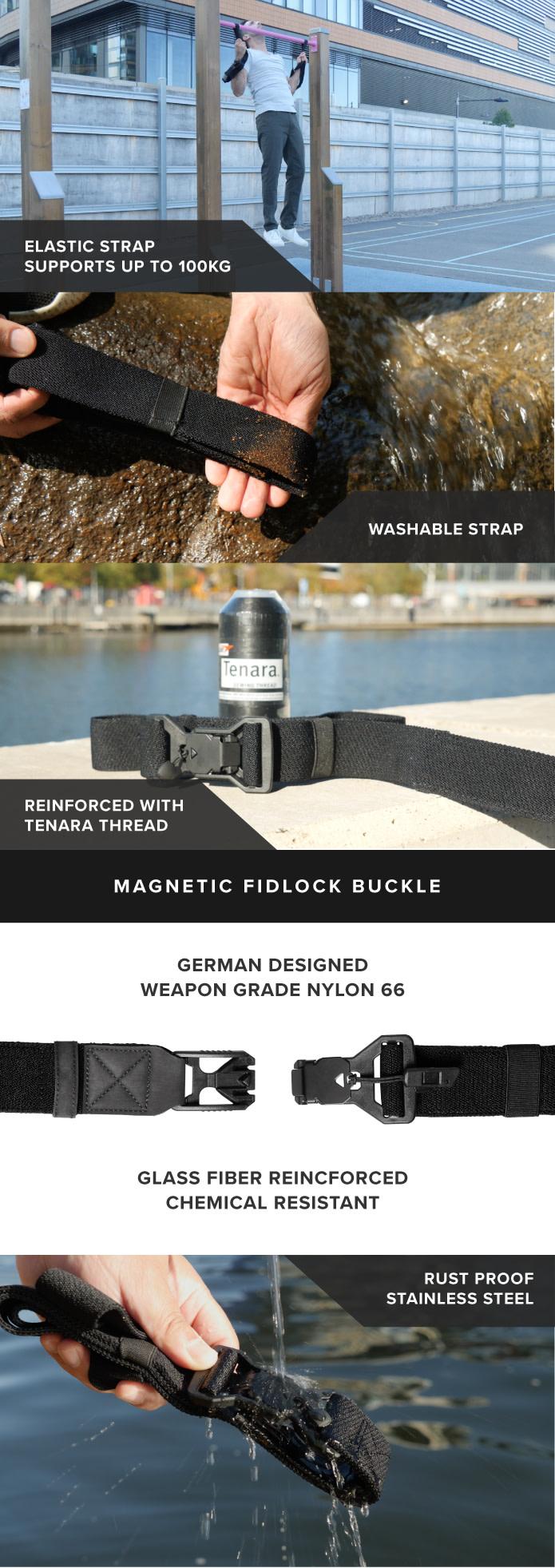 Stealth Belt: Tactical Anti-Theft Belt System | Indiegogo
