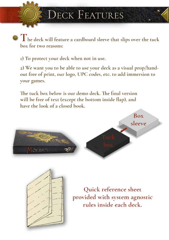 The Moebius Deck of Wonders - Magic Item Cards | Indiegogo
