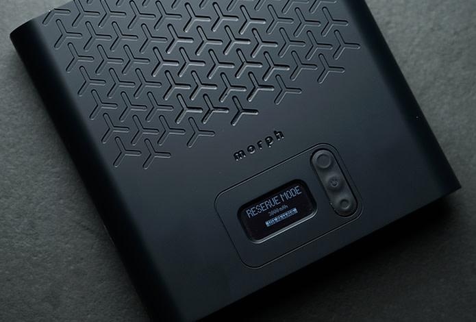 合計出力120W、USB-C PDポート×2な上に脱着する予備バッテリーが付属した最強のモバイルバッテリー「Morph」