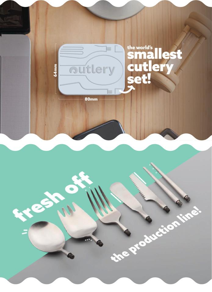 Pocket-size Cutlery