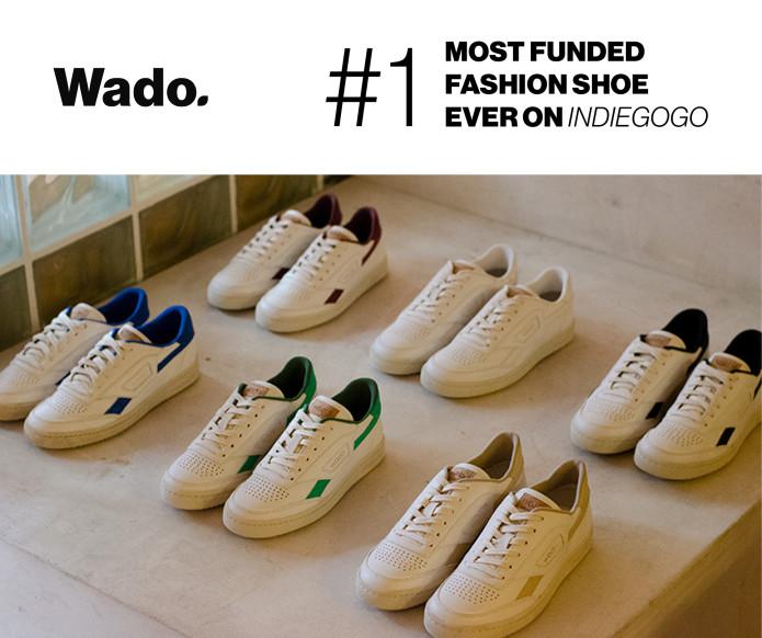 Wado. Gamechanging Sneakers inspired by