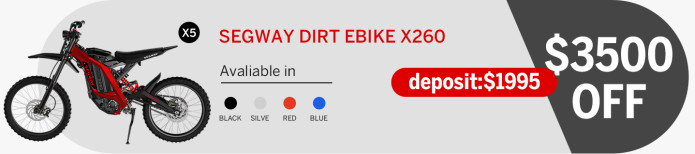 Segway Dirt eBike: The Epic Off-Road Ride | Anydeals.uk