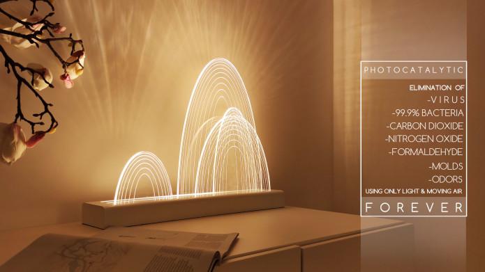 NASA 認證光觸媒殺菌 GUILIN 山脈燈