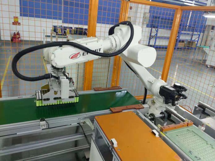 FLX Babymaker Battery Factory Robot