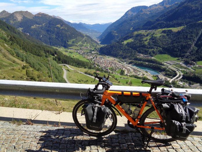 Pete Leaviss FLX Babymaker Electric Road Bike in Switzerland