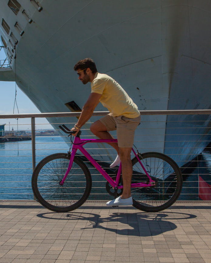 Rob Rast Riding the FLX Babymaker Electric Road Bike