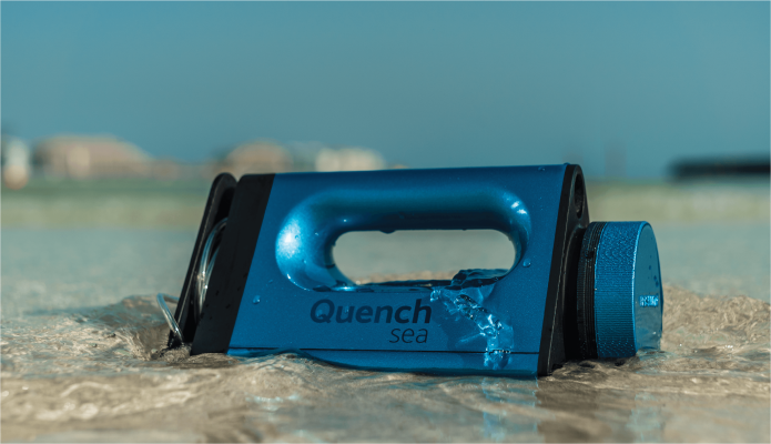 QuenchSea: Turn Seawater into Freshwater