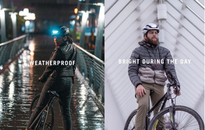 Weatherproof & Bright during the day