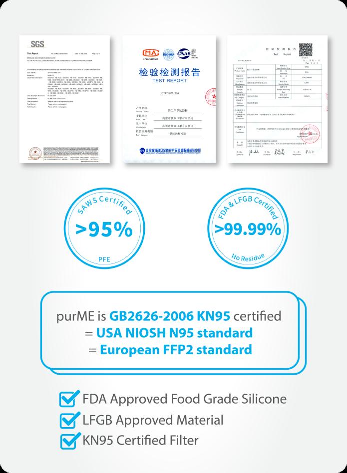 purME certificates - các chứng nhận