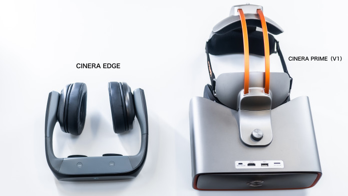 Cinera Edge 5K HMD with Dolby Digital Headphone