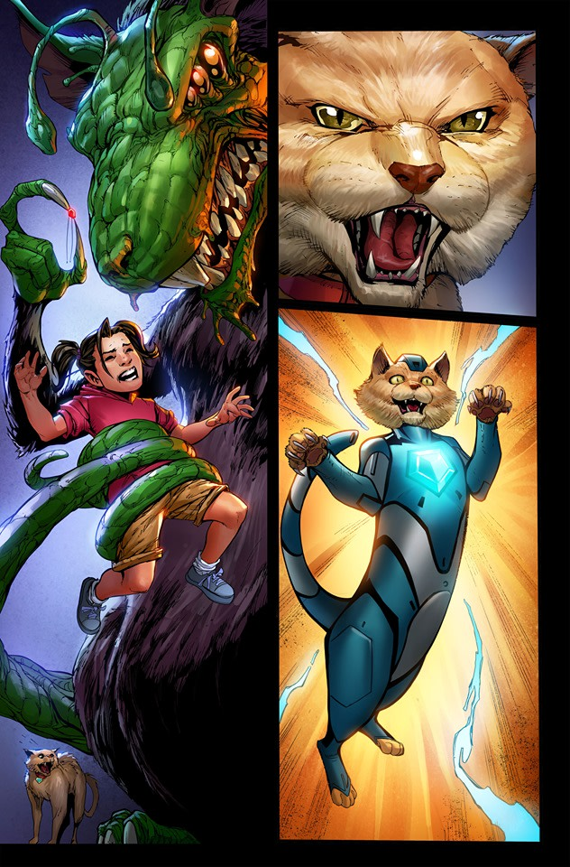 Help Fund a Graphic Novel Involving Space Cats