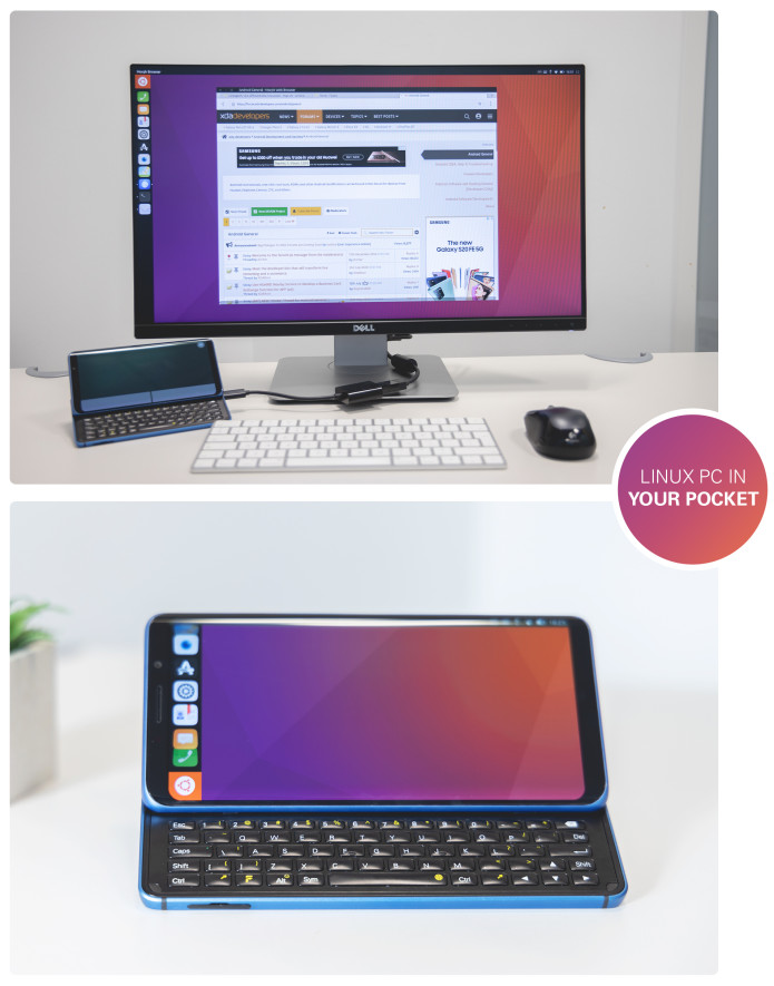 F(x)tec Pro1 with Ubuntu Touch by UBports