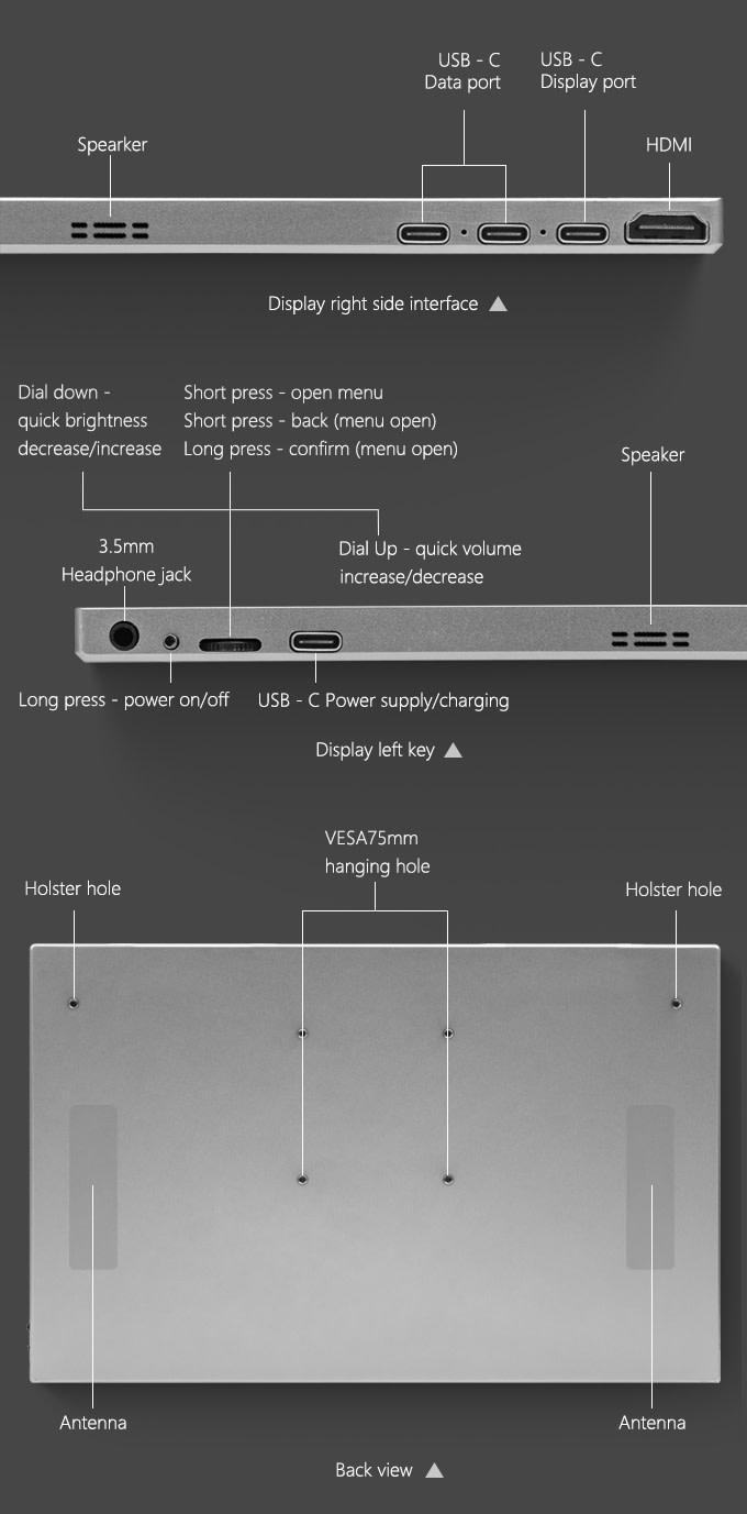 AirView 2 無線觸控 外置螢幕