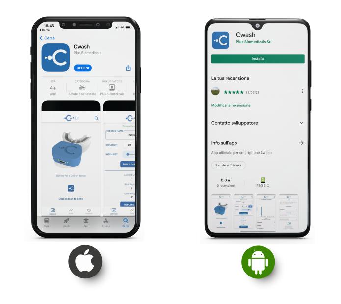 La comoda app per gestire il dispositivo
