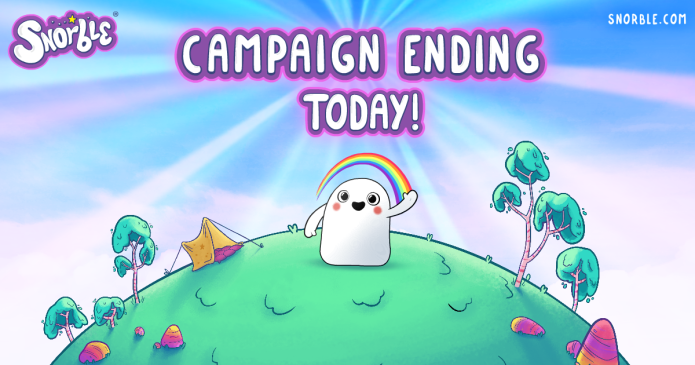 Campaign Ending Today!
