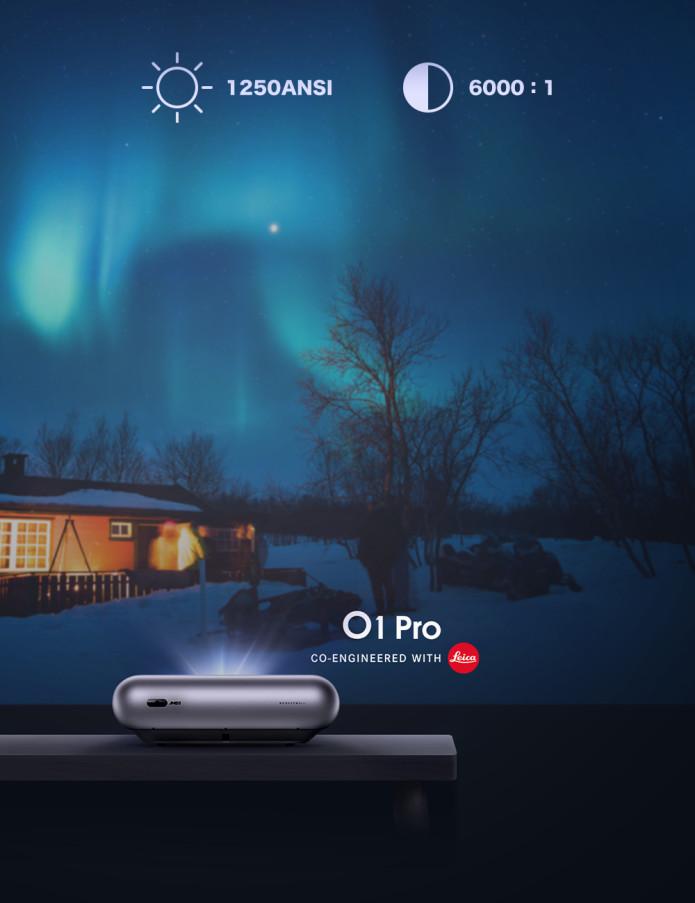 JMGO O1 Pro, el proyector con Leica más sorprendente en precio