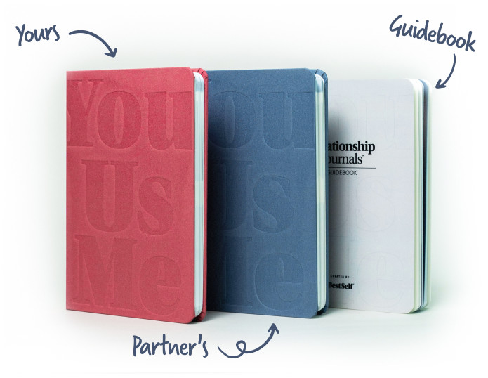 Relationship Journals by BestSelf Co.