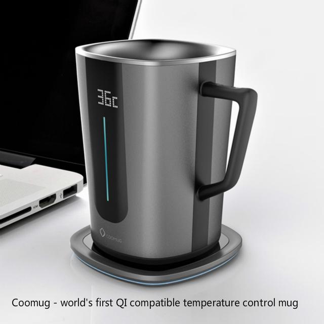 Track Campaign Qi Indiegogo On Wirelesss Coomug Smart Coffee Mug's n80OPkXw
