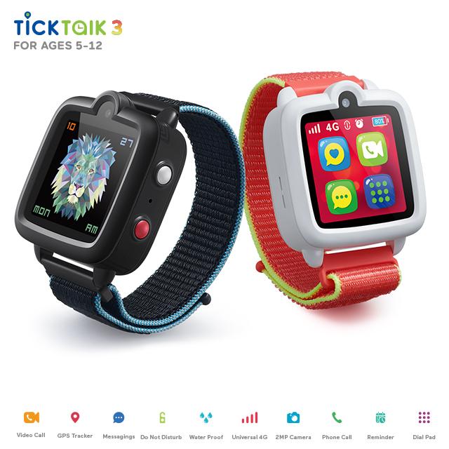 Track TickTalk 3 The Most Advanced 4G Kids Watch Phone's