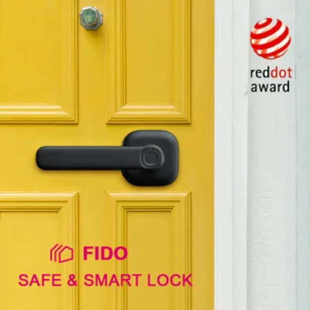 Track FIDO: The Most Safe and Minimalist Smart Lock's