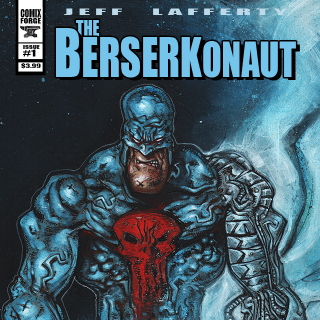 THE BERSERKONAUT Comic Book- Issue 1