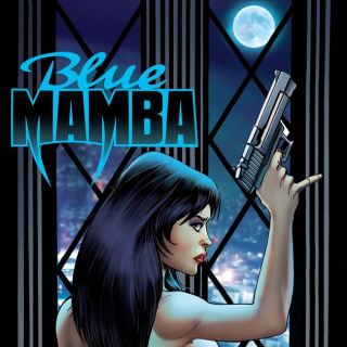 Blue Mamba Comic #1