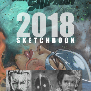 Gary Shipman Sketchbook 2018