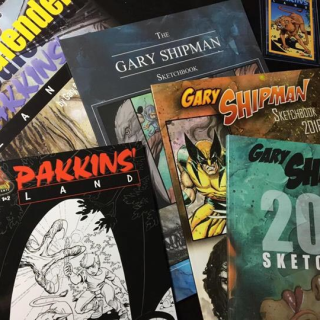 Gary Shipman Sketchbook Campaign Extended