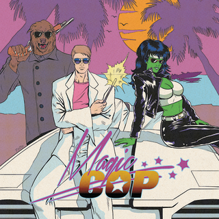 MAGIC COP : Drop Dead Legs Comic