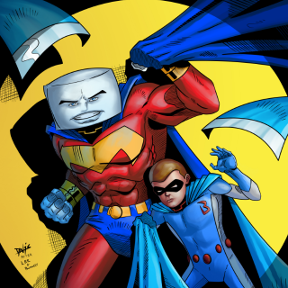 PILLOWMAN AND BLANKETBOY: MAXIMUM VELOCITY REDUX