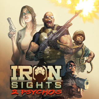 IRON SIGHTS: 2 PSYCHOS Graphic Novel