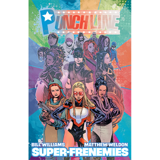 Punchline: Super-Frenemies Hard Cover and TPB